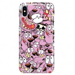 PHONE CASE IPHONE XS MAXA1921 CARTOON NETWORK CO101 CLASSIC COURAGE