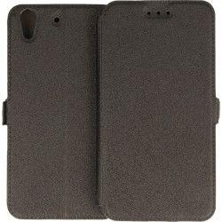 BOOK POCKET PHONE CASE HUAWEI Y6 II CAM L03 BLACK