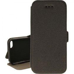 BOOK POCKET PHONE CASE IPHONE 5G / 5S / SE A1428 / A1533 / A1662 BLACK