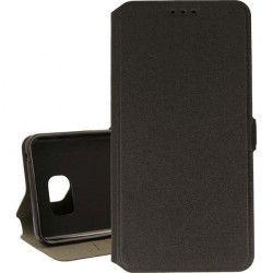 BOOK POCKET PHONE CASE SAMSUNG GALAXY NOTE 5 N920 BLACK