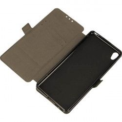 BOOK POCKET PHONE CASE SONY XPERIA XA F3111 BLACK