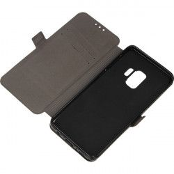 BOOK POCKET PHONE CASE SAMSUNG GALAXY S9 G960 BLACK