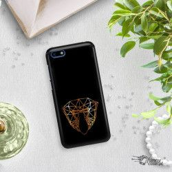 NEON GOLD CASE FOR PHONE HUAWEI Y5 2018 CHANGING ZLC104