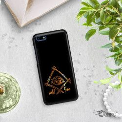 NEON GOLD CASE FOR PHONE HUAWEI Y5 2018 CHANGING ZLC115