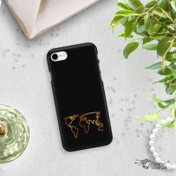 NEON GOLD CASE FOR IPHONE 7 8 A1778 / A1905 PHONE CHANGING ZLC139