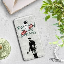 PHONE CASE IPHONE XS MAX A1921 BANKSY PATTERN BK115