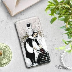 PHONE CASE IPHONE XS MAX A1921 BANKSY PATTERN BK100