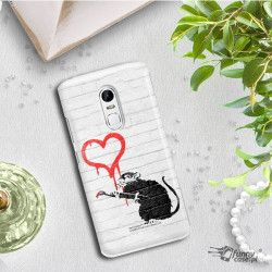 PHONE CASE IPHONE XS MAX A1921 BANKSY PATTERN BK110