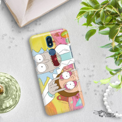 PHONE CASE LG K40 RICK AND MORTY RIM72