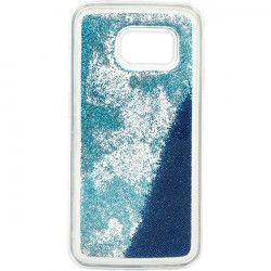 GUMA LIQUID PEARL PHONE CASE SAMSUNG GALAXY S6 EDGE G925 BLUE