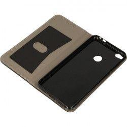 BOOK FOCUS PHONE CASE HUAWEI P8 LITE 2017 BLACK-BLUE