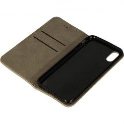 BOOK FOCUS PHONE CASE IPHONE X / XS A1865 / A1920 BEIGE